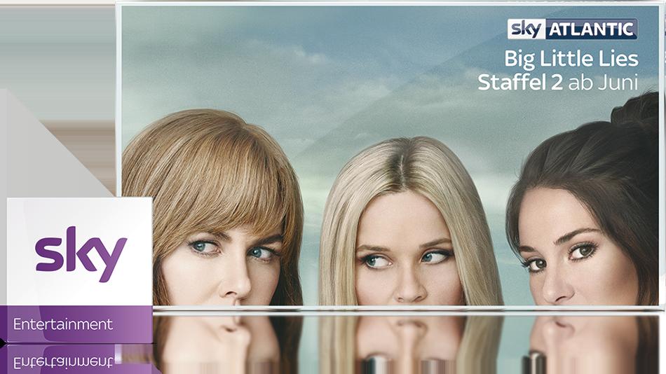 Sky Entertainment Paket - Die neuesten und besten Serien