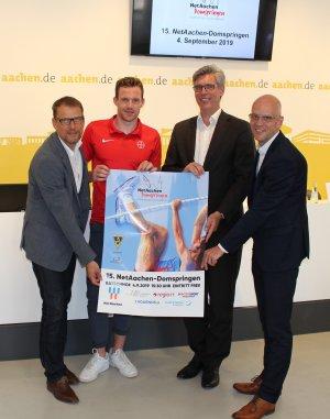 Michael Leers, Torben Blech, Marcel Philipp und Andreas Schneider