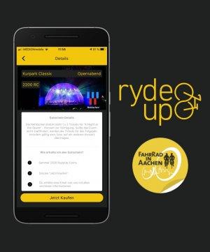 """Auch bei """"Aachen Erradeln"""" ist NetAachen eines der ersten Partnerunternehmen, das über die RydeUp-App attraktive Rabatte zur Verfügung stellt."""